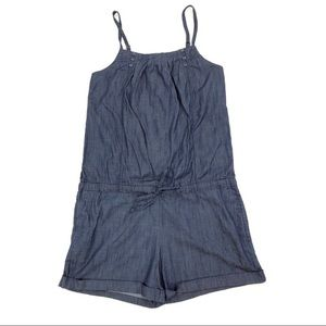 Velvet Heart Chambray Romper Med/ Large G141